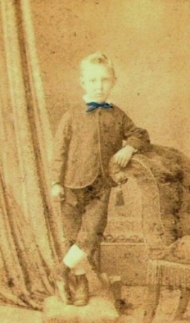 william thomas coombe as a boy