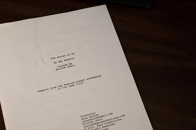 The Secret of 40 official script! #thesecretof40film