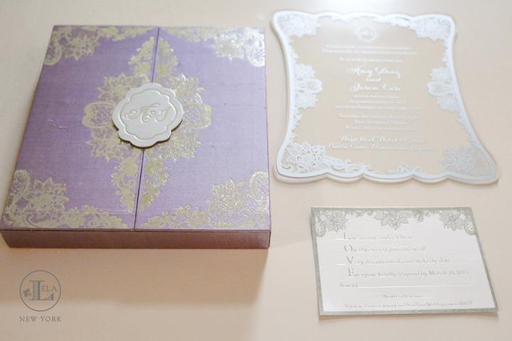 Luxury Wedding Invitation | Amy & Jason