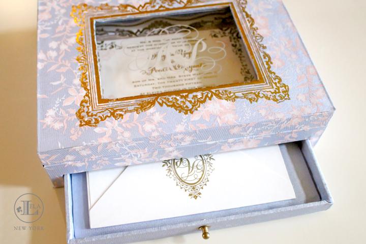 Box Wedding Invitation Lela New York