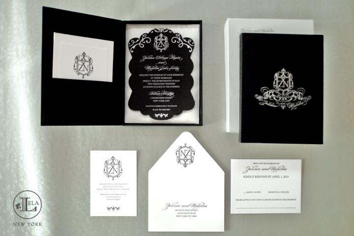 Boxed Wedding Invitations | Zulema & Nick