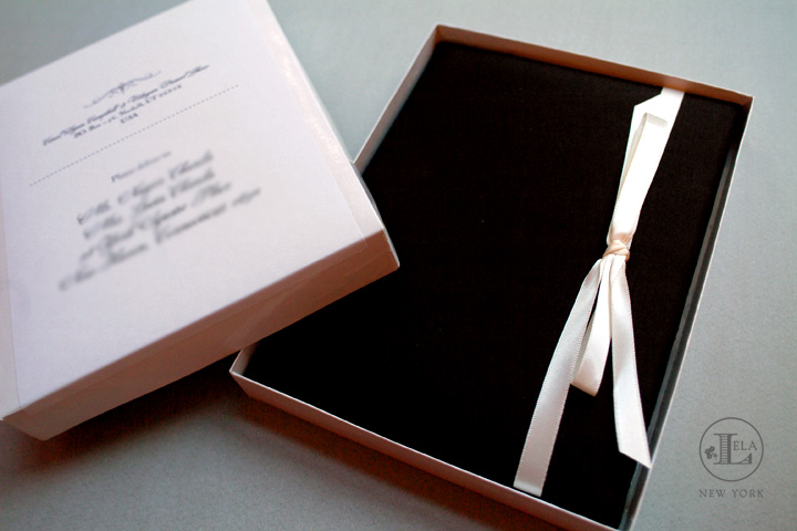 Luxury Black and White Invitation   Carol & Udayan