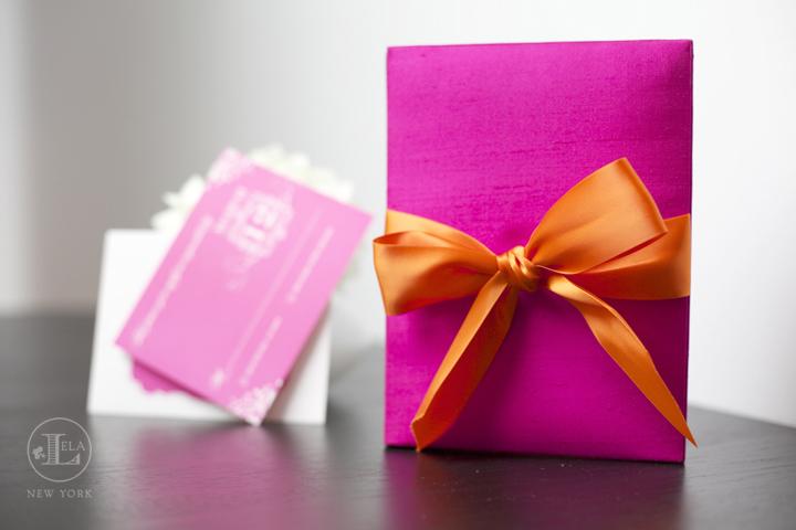 Pink Luxury Invitation Box   Lauren & William