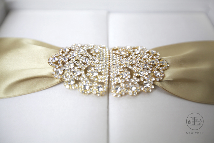 Luxury Gold Invitation | Kathryn & Patrick