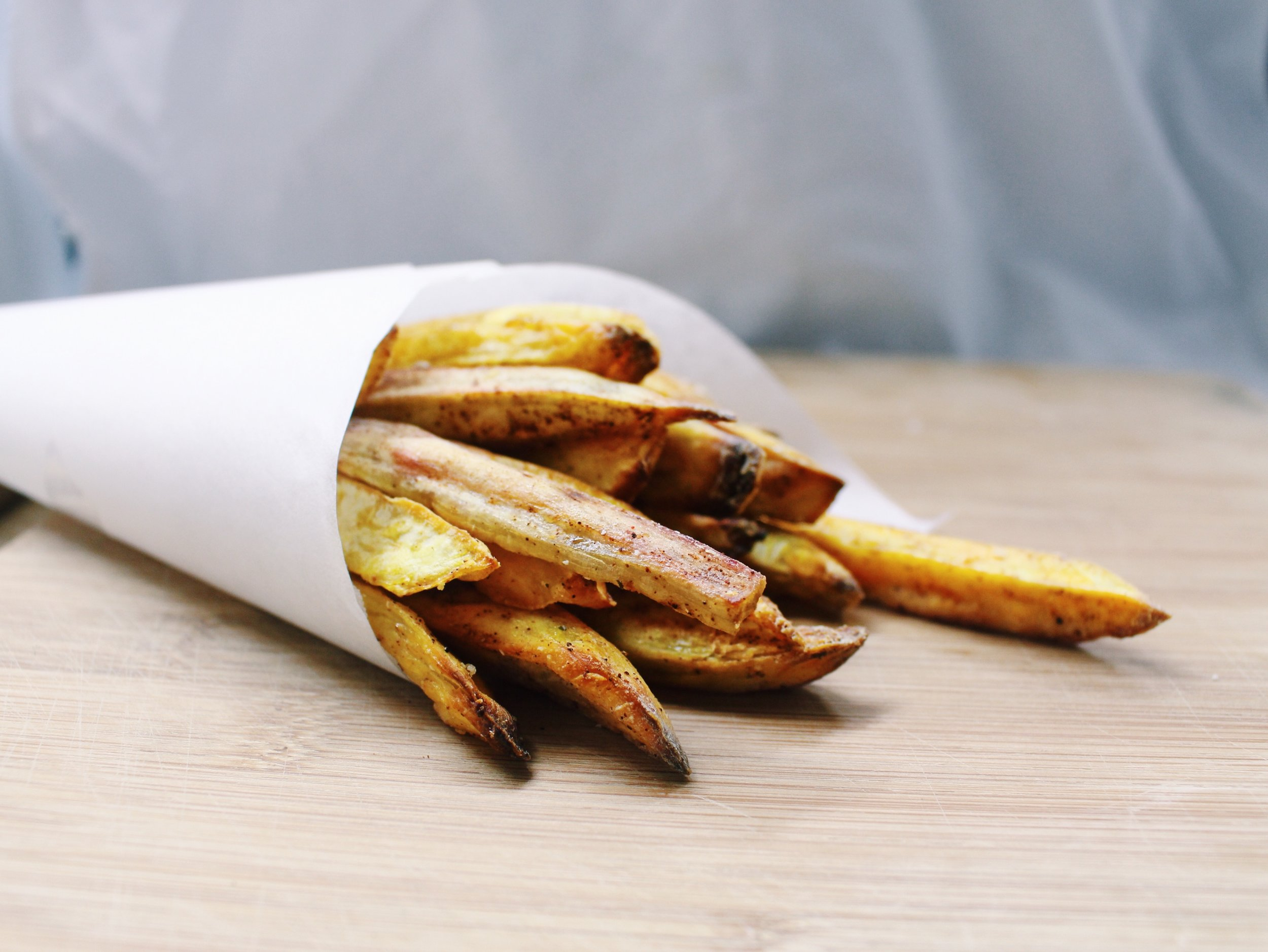 Actually Crispy Sweet Potato Fries [Rachel Tsao].JPG
