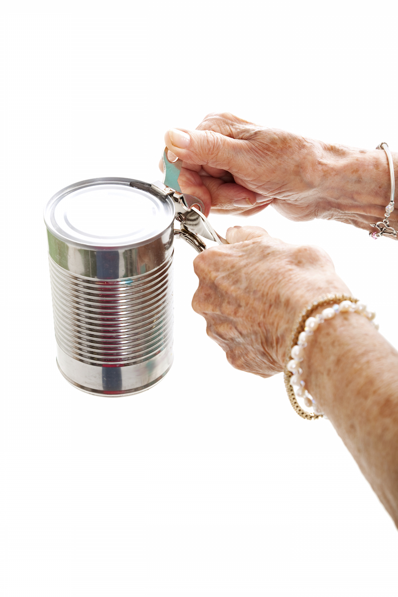 Some cans are opened with a special can opener©Getty