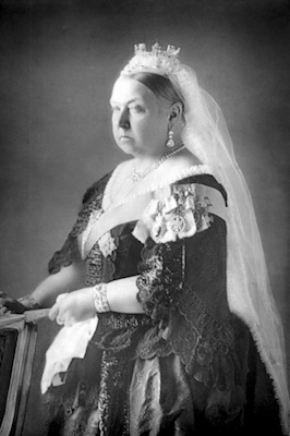 Queen Victoria in 1900 ©Getty Images