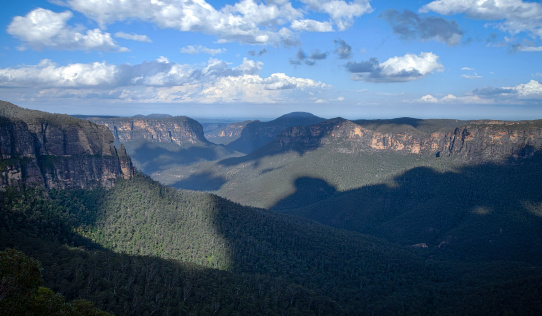 The Blue Mountains, Australia. Getty Images
