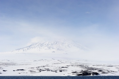 Mt Erebus: one of the mountains and an Antarctic volcano ©Getty Images
