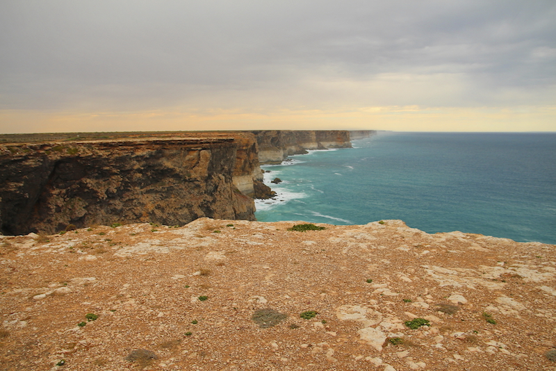 The coastline of the Nullarbor Plain is along the Great Australian Bight. ©iStock