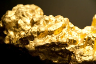 A gold nugget. ©Getty Images