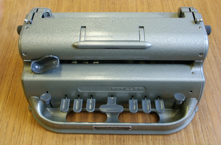 One kind of Braille machine ©Getty Images