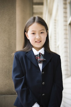 A girl in school uniform ©Getty Images