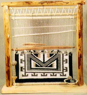 A small Navajo loom ©Getty Images