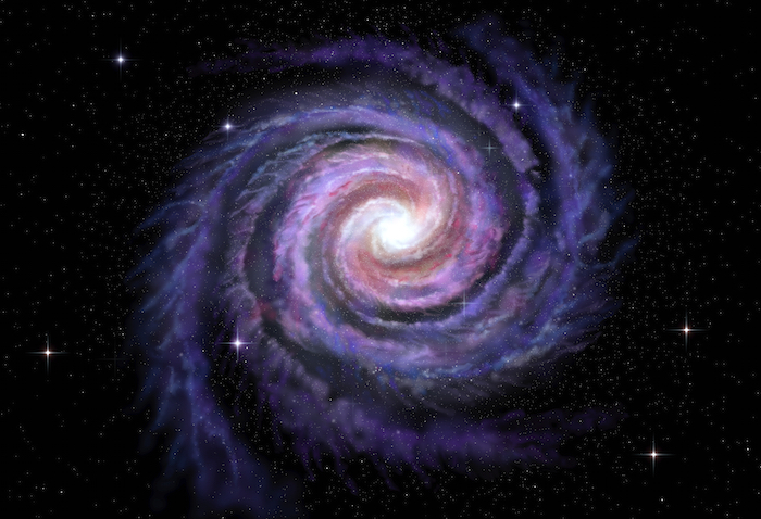 The Milky Way is a vast spiral galaxy. Getty Images