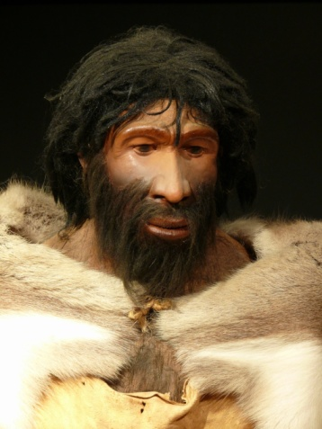 The first humans might have looked like this. Neanderthal man iStock photos