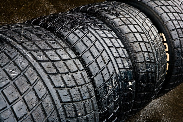 Synthetic rubber was invented to make car tyres Getty Images
