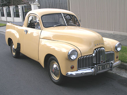 This Holden produced ute dates back to 1950s