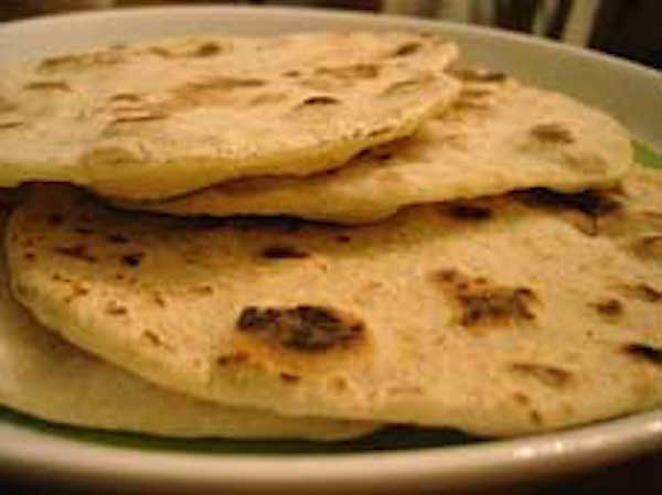 Flat bread is unleavened bread. Getty Images