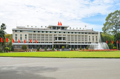 Now called Reunification Palace, this is where the President of South Vietnam lived. ©Getty Images