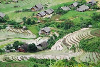 Small farming village. Image©iStock