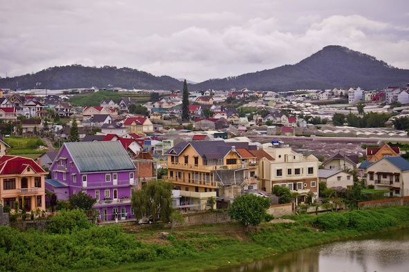 View of Dalat, Vietnam. Photo©iStock
