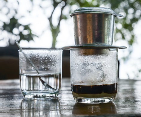 Vietnamese drip coffee Photo©Getty