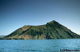 Taal volcano in the Philippines is a crater volcano