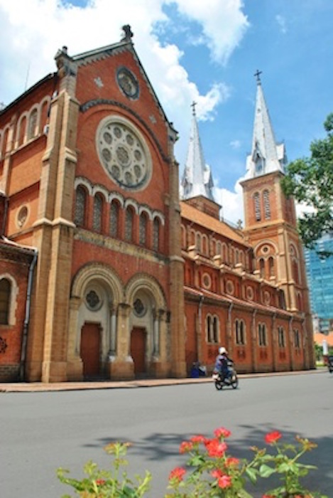 Notre Dame Cathdral, Ho Chi Minh City. Getty Images