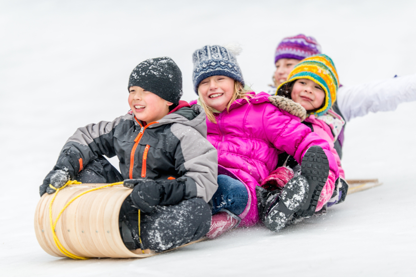 Fun in the snow! ©Getty