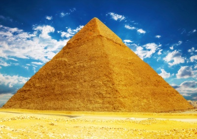 The pyramid today. Photo©Getty Images
