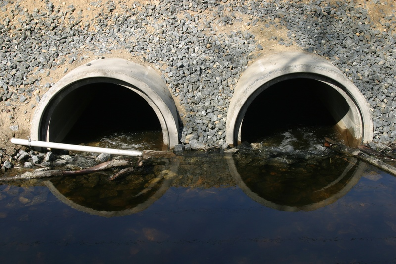 Litter and other pollutants are washed into waterways through drains © Getty Images