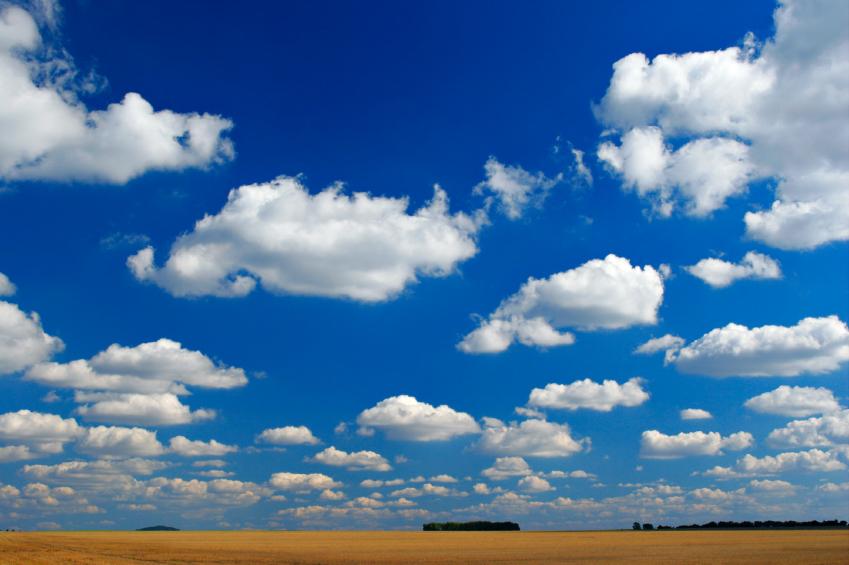 Cumulus clouds. iStock
