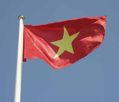The national flag of Vietnam. Getty Images