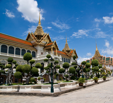 Part of the Thai Royal Palace in Bangkok.©kidcyber