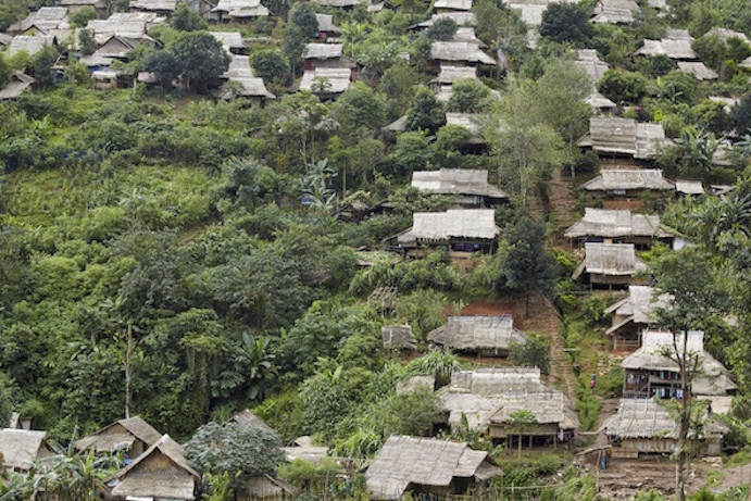A mountain village near the Myanmar border ©Photos.com
