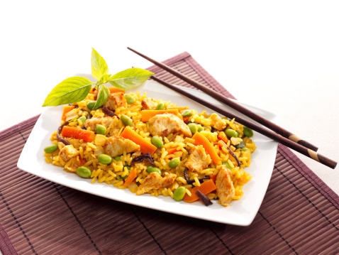 Nasi goreng: a spice chicken and rice dish © Getty Images