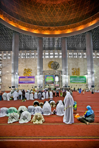 Inside a mosque in Indonesia iStock