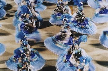 Dancers in a Mardi Gras street parade in Rio de Janeiro.  ©Jupiter Images