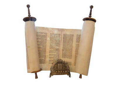 In a synagogue, the Torah is generally a scroll. ©iStock