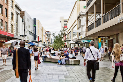 Rundle Mall is in the centre of the city ©iStock