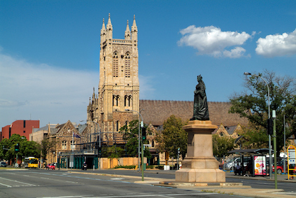 """There are many churches in the city and Adelaide is known as """"the city of churches'. ©iStock"""