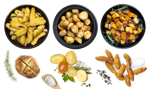 Potatoes are cooked in many different ways. ©iStock