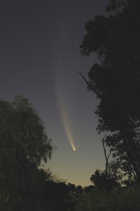 Comets are invisible until the come close to the sun.© iStock