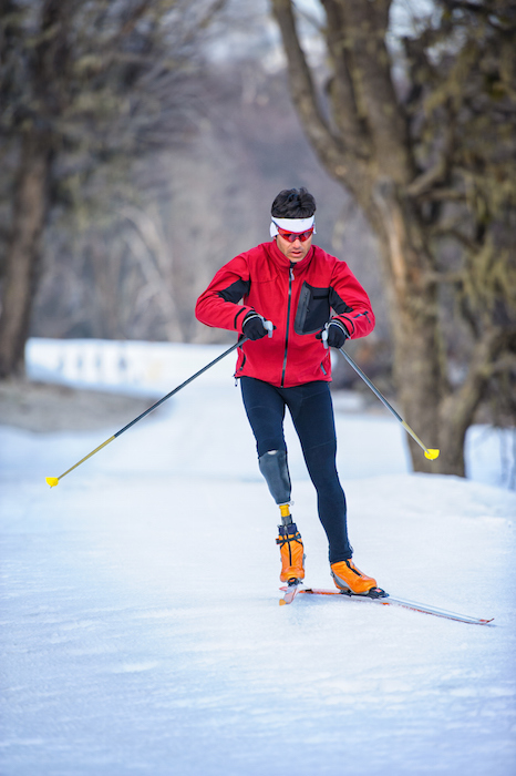 Cross-country skiing is an event at the Paralympic Winter Games. ©Getty