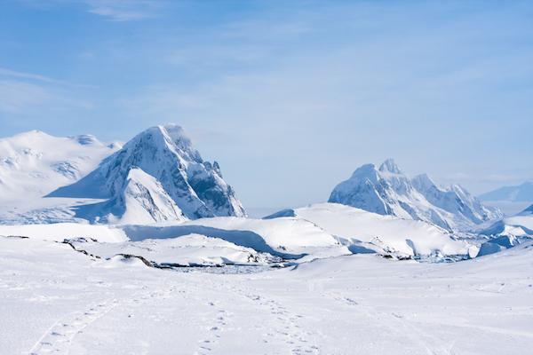 Antarctic landscape ©Getty