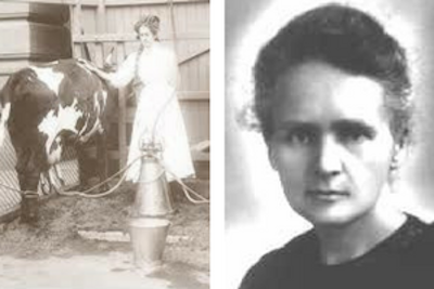 Anna Baldwin, Inventor of the first successful suction milking machine.© Wikipedia
