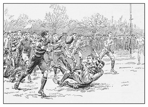 Rugby became a very popular game over 200 years ago. ©iStock