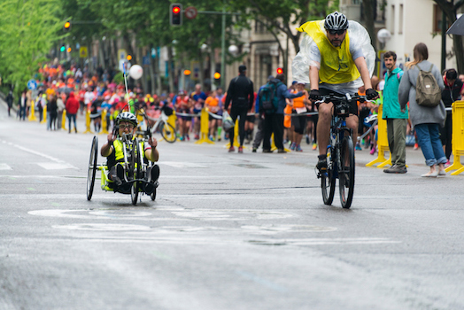 Special wheelchair design for racing at the Paralympic Games ©iStock