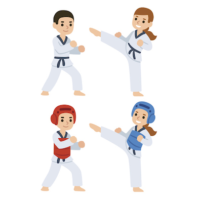 Taekwondo is a sport for everyone, even young children ©iStock